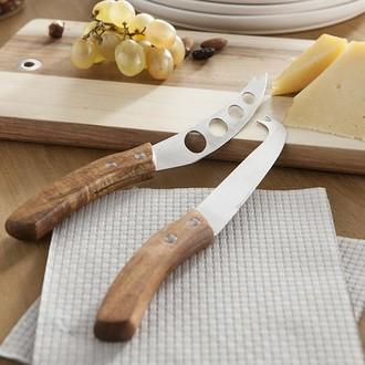 Lot de 3 couteaux à fromage acacia artese