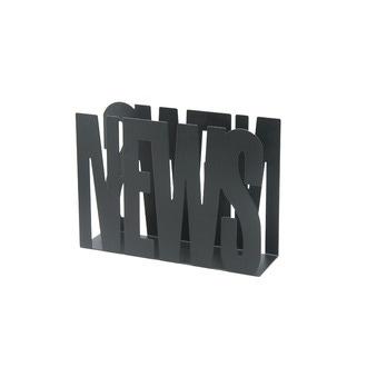 Range magazine en métal noir