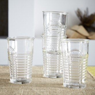 verre transparent Officina 30cl