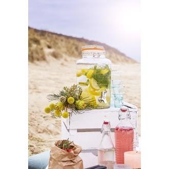 KILNER - Fontaine à boisson en verre transparente 8L