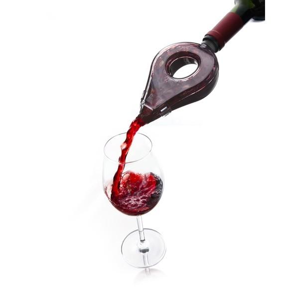 Achat en ligne Aérateur à vin en plastique noir et transparent