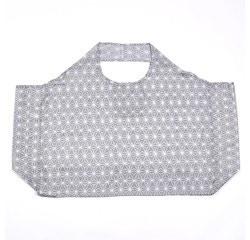 compra en línea Bolsa grande para la compra estampado gris (57 x 28 x 40 cm)
