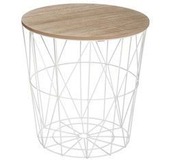 acquista online Tavolino fili Kumi bianco 41cm