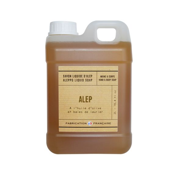 Savon liquide Alep 2l