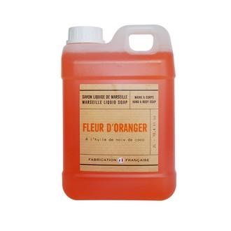 Savon liquide à la fleur d'oranger 2l