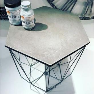 Plateau de table hexagonale en MDF Ø30cm