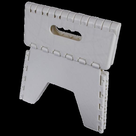 Tabouret pliant blanc Stool 25x25x21cm