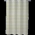 Rideau de douche Atmosphérique Blanc et Or 180x200cm