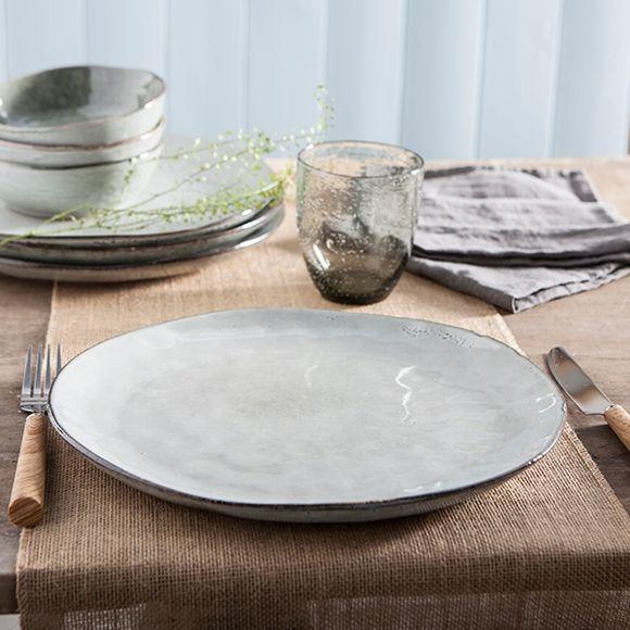 Achat en ligne Assiette plate Nori verte 28cm