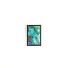 Achat en ligne Cadre lila en PVC noir 13x18cm