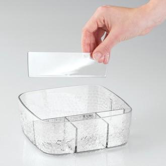 Rangement pour maquillage modulable en acrylique 5 compartiments