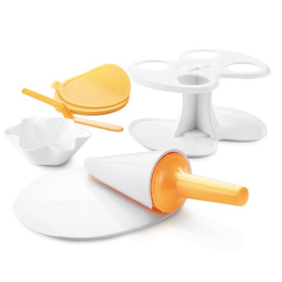 Set pour cornets et coupelles à glace
