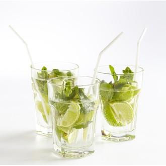 6 verres à mojito en verre 40cl