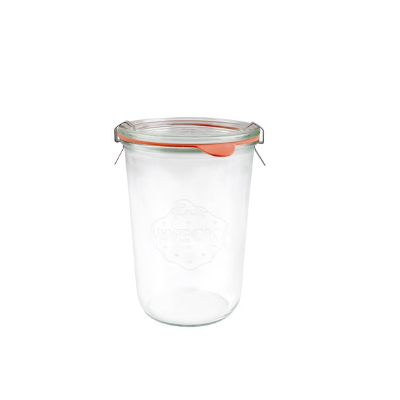 SVasetti Weck in vetro da 850 ml, 4 pezzi