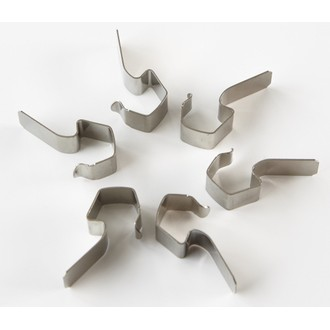 Sachet de 6 clips en métal Weck