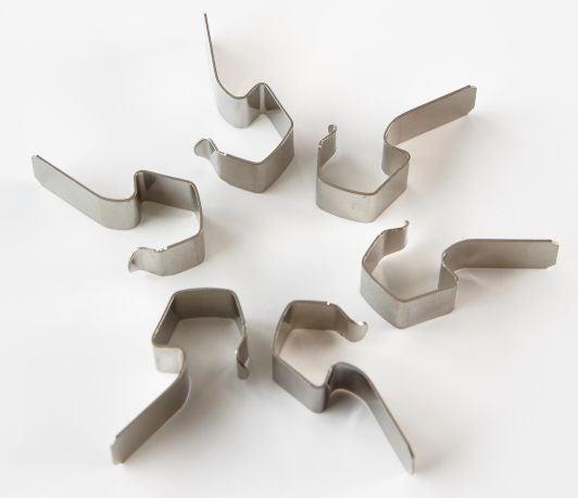 Sacchetto clip metalliche Weck, 6 pezzi
