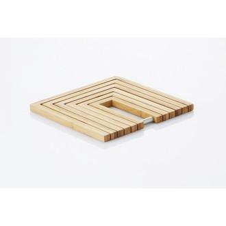 Dessous de plat en bambou modulable