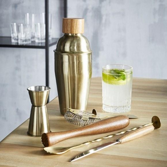 Set di 6 accessori per cocktail