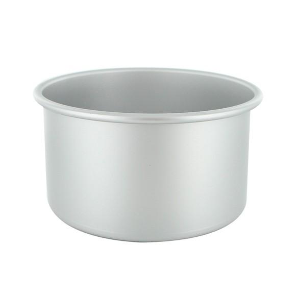 Moule à manqué rond en aluminium antiadhésif 18cm haut 10cm