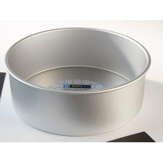 Moule à manqué rond en aluminium antiadhésif 28cm haut 10cm