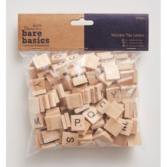 Lettres carrées 200 pièces