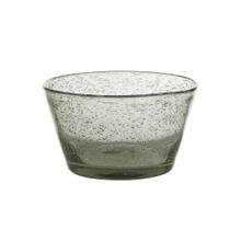 Achat en ligne Coupe à glace en verre bullé grise