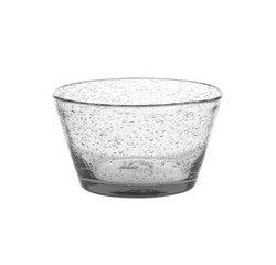 Achat en ligne Coupe à glace en verre bullé transparente
