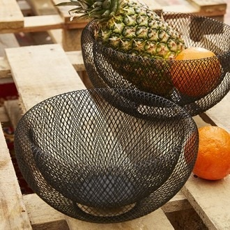 POMAX - Panier fruits filaire Kabu large