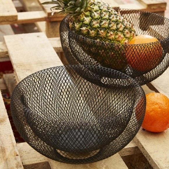 Achat en ligne Panier fruits filaire Kabu large