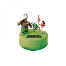 Achat en ligne Kit décor gâteau Vaiana Princesse des océans 4 éléments