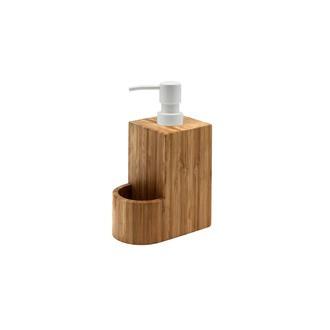Distributeur à savon en bambou 12.6x8x19.5cm