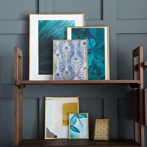 acquista online Portafoto in PVC dorato 40x50cm