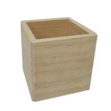 Achat en ligne Base de boite à bijoux en bois carré 10x10x10cm
