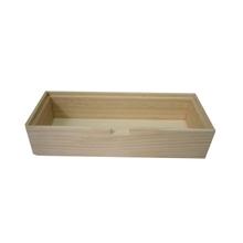 Achat en ligne Base de boite à bijoux en bois rectangulaire 23x9x5cm