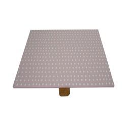 acquista online Coperchio reversibile quadrato in legno per portagioie rosa