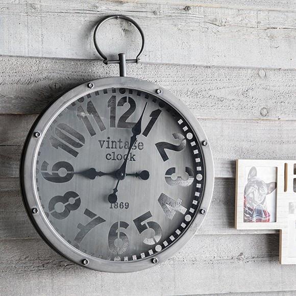 Achat en ligne Horloge Met gousset noir 45cm