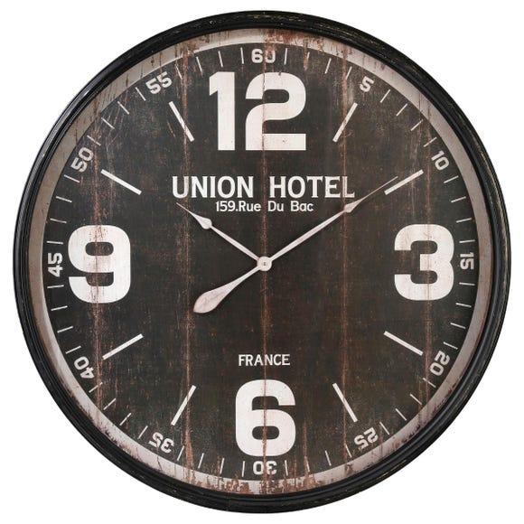 Achat en ligne Horloge Met holet  noir 90cm