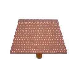 acquista online Coperchio per portagioie quadrato reversibile in legno corallo