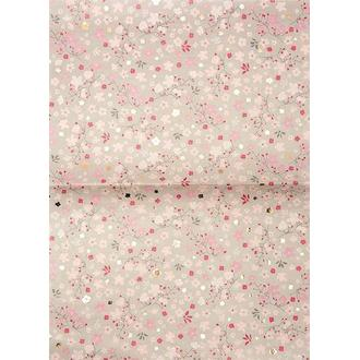 RICO DESIGN - Set de 3 feuilles paperpatch cerisier 30x42cm