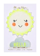 Achat en ligne Lot de 2 écussons thermocollants Hello Sunshine