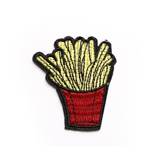 LA PETITE EPICERIE - Ecusson thermocollant frites