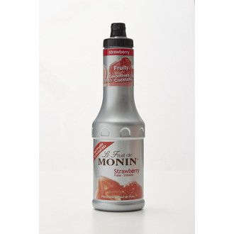 MONIN - Purée de fruit goût fraise 500 ml