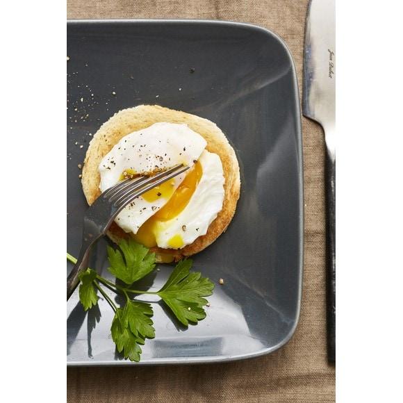 Cuit œuf pochoir silicone et inox orange