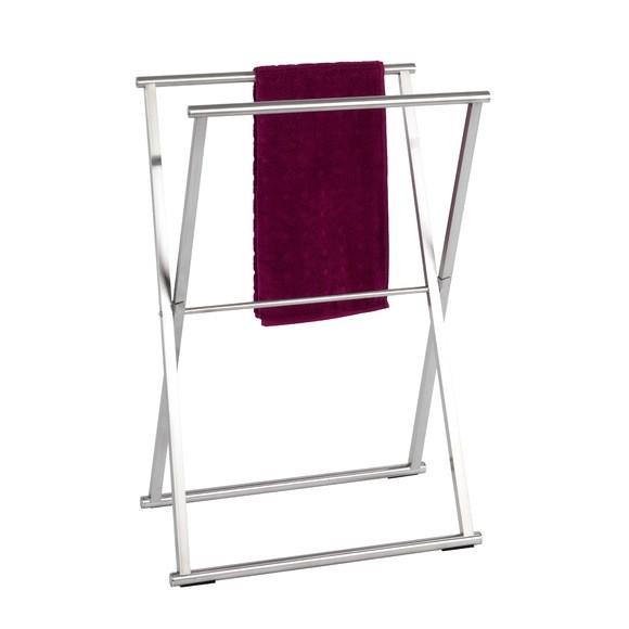 Porte serviette pliable en inox Lava 53x80x35cm