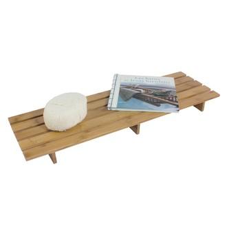 Pont de baignoire en bambou 70x20x5cm