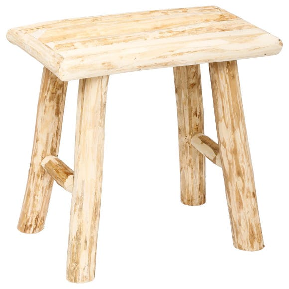 Achat en ligne Tabouret en bois Woody 34x24xh32cm