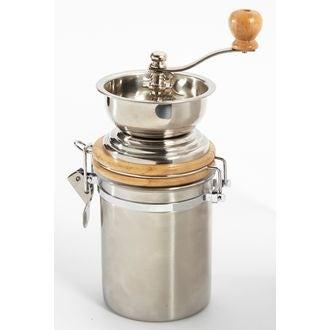Moulin à café en inox hermetique 10cm x 14cm