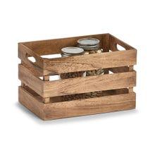 Achat en ligne Caisse de rangement en bois vintage 31x21x19cm