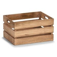Achat en ligne Caisse de rangement en bois vintage 39x29x21cm