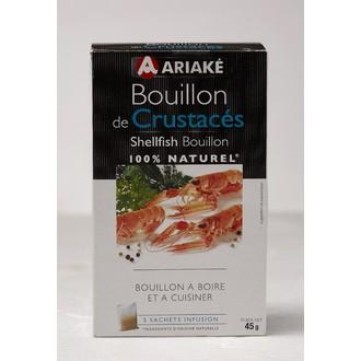 ARIAKE -  Bouillon de Crustacés 5 sachets 33cl